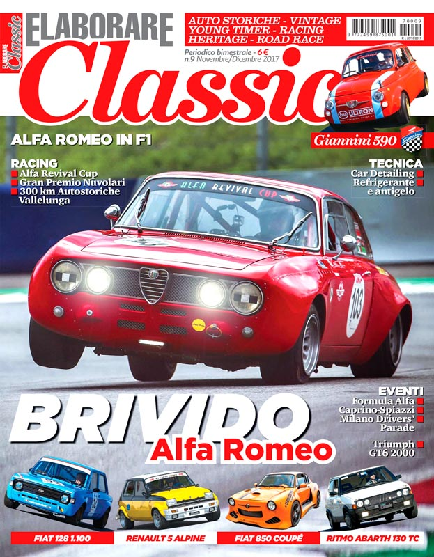 Alfa Romeo in F1 la storia su Elaborare Classic Novembre/Dicembre 2017