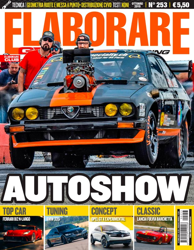 La storia dell'Autodromo di Vallelunga sul magazine ELABORARE ottobre 2019