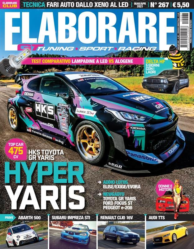 Il magazine ELABORARE con l'articolo Donne&Motori, le donne pilota più veloci della storia!