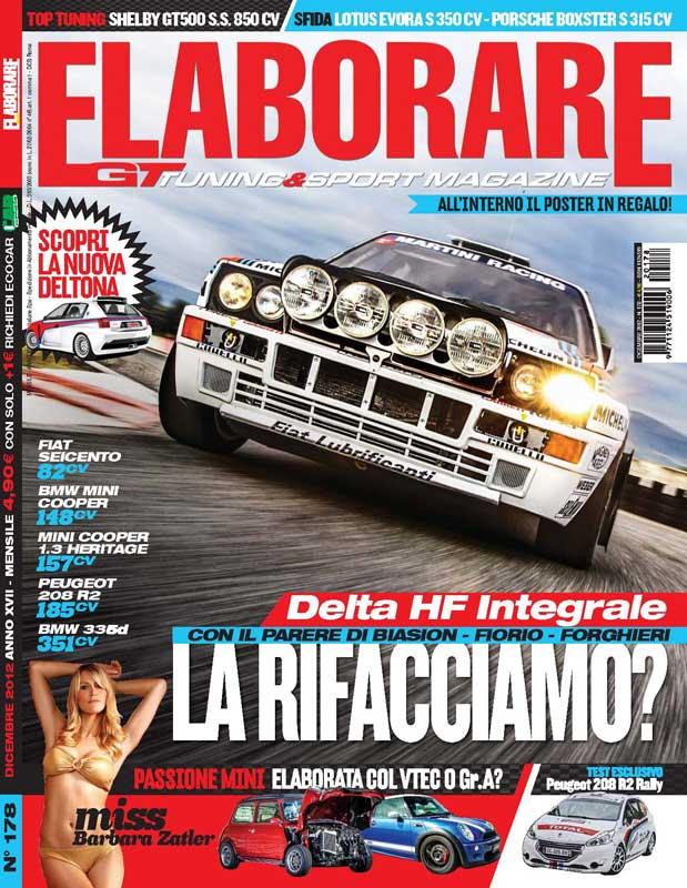 Lancia Delta Integrale magazine