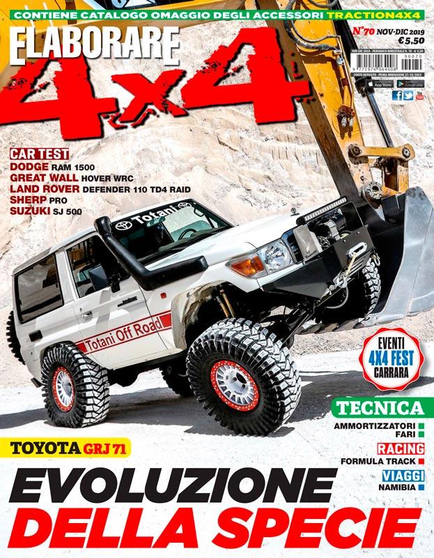 Magazine ELABORARE 4x4 con report ampio ultima edizione del 4x4 Fest 2019