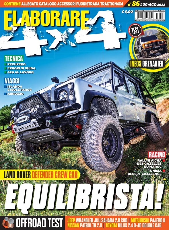 rivista ELABORARE 4x4 off road ultimo numero in edicola