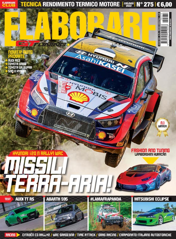 Rivista ELABORARE concorso King Of Tuning