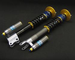 kit di ammortizzatori sviluppato dalla Nitron per la Mitsubishi Lancer Evo