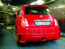 Fiat 500 preparazioni sportive Mariani Tuning