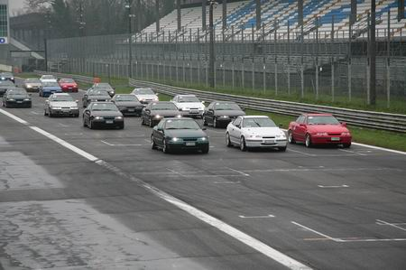Calibra in Pista a Monza