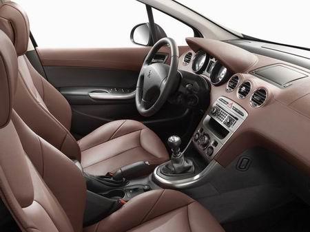 Peugeot 308 HDi abitacolo