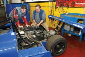 motore da corsa preparazione