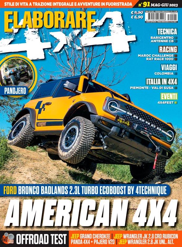 Elaborare 4x4 magazine rivista copertina ultimo numero in edicola