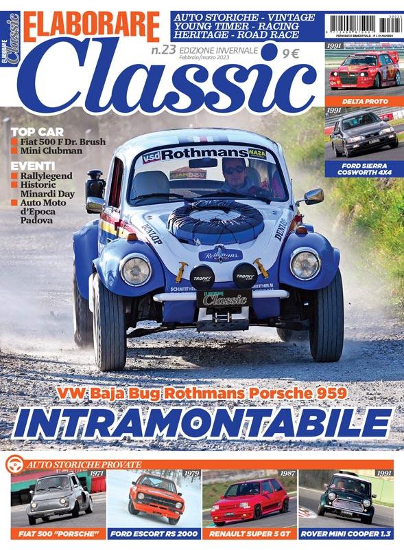 Elaborare Classic magazine rivista copertina ultimo numero in edicola